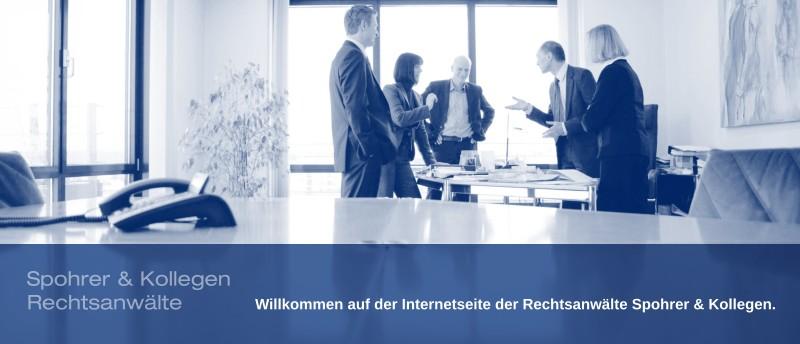 Kanzlei Spohrer & Kollegen - Bau- und Architektenrecht, Miet- und Wohnungseigentumsrecht, Familienrecht, Erbrecht