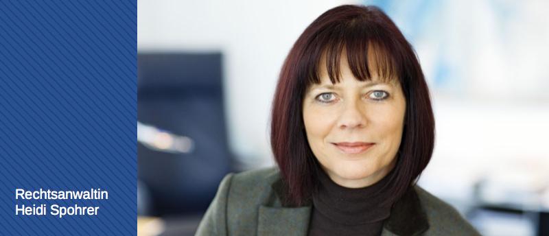 Rechtsanwältin Heidi Spohrer - Familienrecht, Mediation