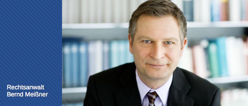 Rechtsanwalt Bernd Meißner - Bau- und Architektenrecht